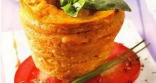 Flan de tomates, un postre innovador