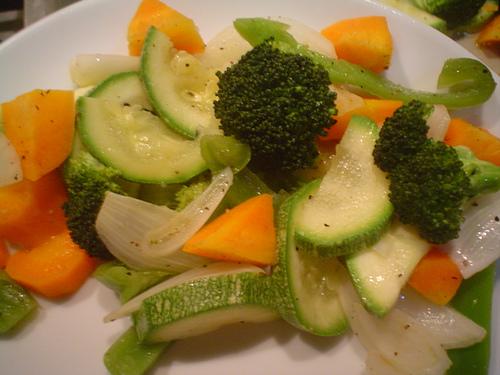 coccion de vegetales