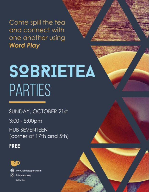 Readings on Recovery - Sober Event in NYC (SobrieTea Party)