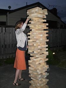 Drunk Jenga Jenga Drinking Game for Regular  Giant Blocks