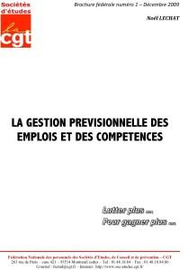 Brochure Fédérale n°1 : La Gestion Prévisionnelle des Emplois et des Compétences