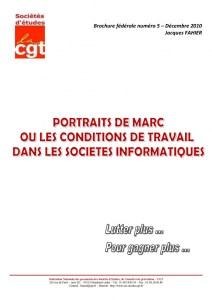 Brochure Fédérale n°5 – Portrait de Marc ou les conditions de travail SSII