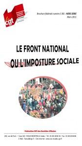 Brochure Fédérale n°5bis HS – Le FN ou l'imposture sociale