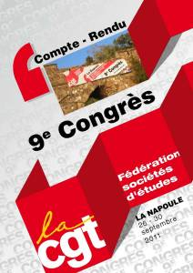 Compte Rendu 9ème Congrès – La Napoule – 26 septembre 2011