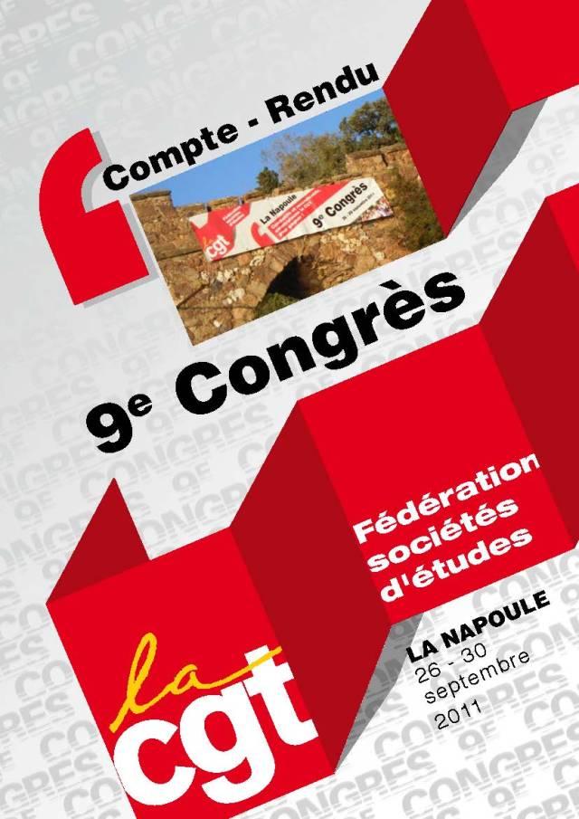 Compte rendu 9ème Congrès – La Napoule – 30 septembre 2011