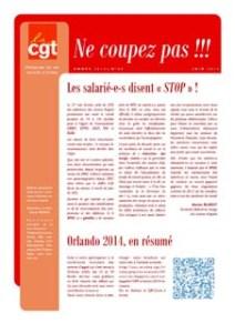 Ne Coupez Pas n°25 : Les salarié-e-s disent « STOP » !