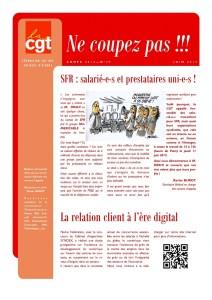 Ne Coupez Pas n°29 : SFR : salarié-e-s et prestataires uni-e-s !