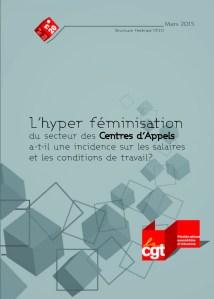 Brochure Fédérale n°20 : L'hyper féminisation du secteur des centres d'appels a-t-il une incidence sur les salaires et les conditions de travail ?