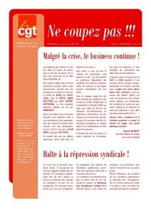 Ne Coupez Pas n°30 : Malgré la crise, le business continue !