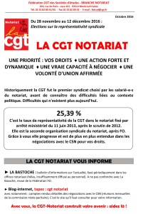 Elections TPE 2016 : Notariat