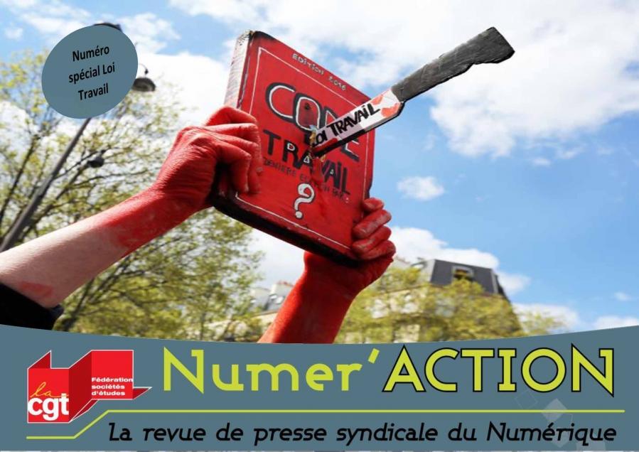 Numer'Action n°4 : Spécial Loi Travail