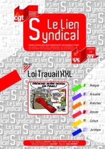 Le lien syndical n°476 – Eté 2017