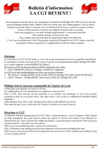 POLYMONT IT SERVICES : Bulletin d'information