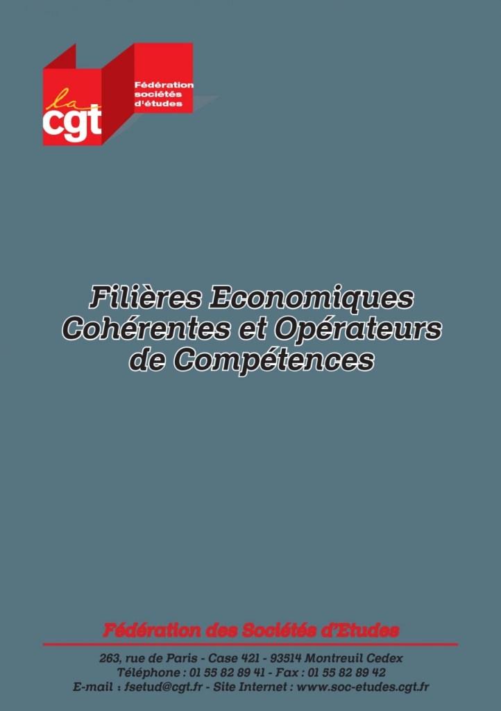 Filières Economiques Cohérentes et Opérateurs de Compétences