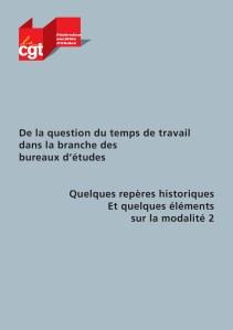 De la question du temps de travail dans la branche des bureaux d'étude: Quelques repères historiques et quelques éléments sur la modalité 2