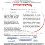 Form'Action mai 2018 : La négociation collective