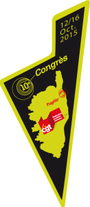 Les congressistes solidaires des camarades d'AIR FRANCE