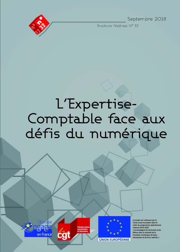 Brochure Fédérale n°32 : L'Expertise-Comptable  face  aux défis  du numérique
