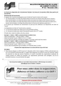 Bulletin d'information des salariés des cabinets d'avocat n°122