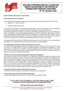 Bulletin d'information des salariés des commissaires-priseurs n°49
