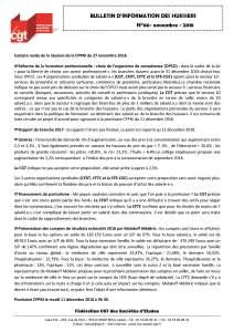 Bulletin d'information CGT Huissiers de justice n°66