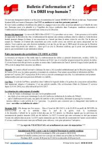 POLYMONT IT SERVICES : Bulletin d'information n°02