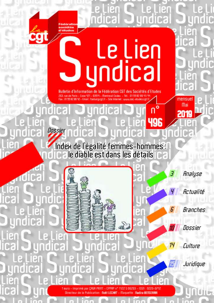 Le lien syndical n°496 – Mai 2019