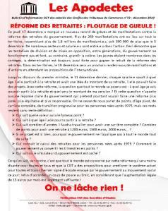 Les Apodectes n°73