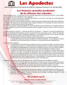Les Apodectes n°75