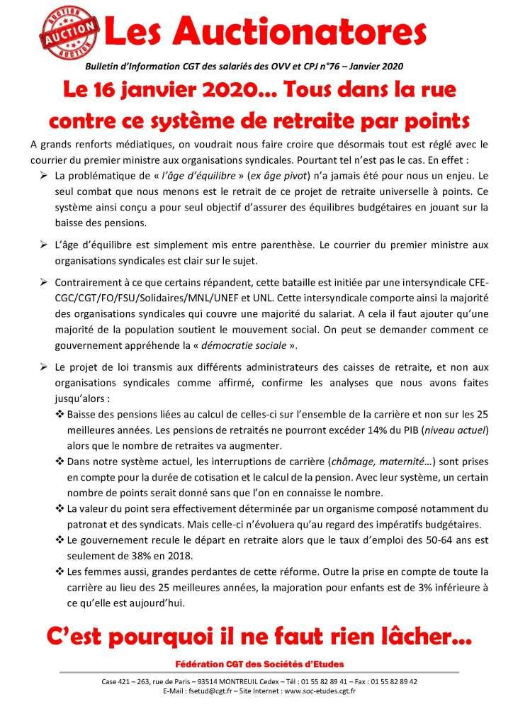 Les Auctionatores n°76