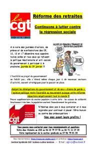 Sodexo Justice Services : Réforme des retraites – Continuons à lutter contre la régression sociale