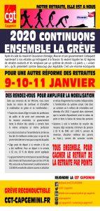 CAPGEMINI : 2020 continuons ensemble la grève