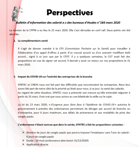 Perspectives n°184