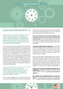 Coronavirus : Questions-réponses n°12