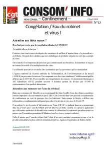 Consom'Info n°13 – Avril 2020
