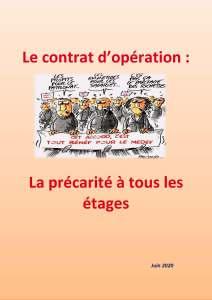 Le contrat d'opération : La précarité à tous les étages