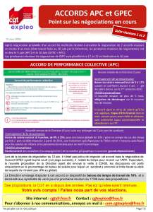 EXPLEO : Accords APC et GPEC – Point sur les négociations en cours