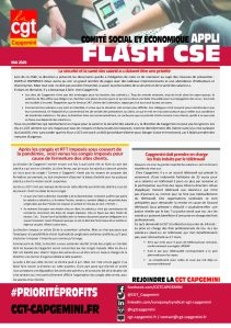 CAPGEMINI : APPLI FLASH CSE – Mai 2020
