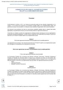 Avenant n°4 du 03/11/2020 à l'accord du 07/10/2015 relatif à la complémentaire santé