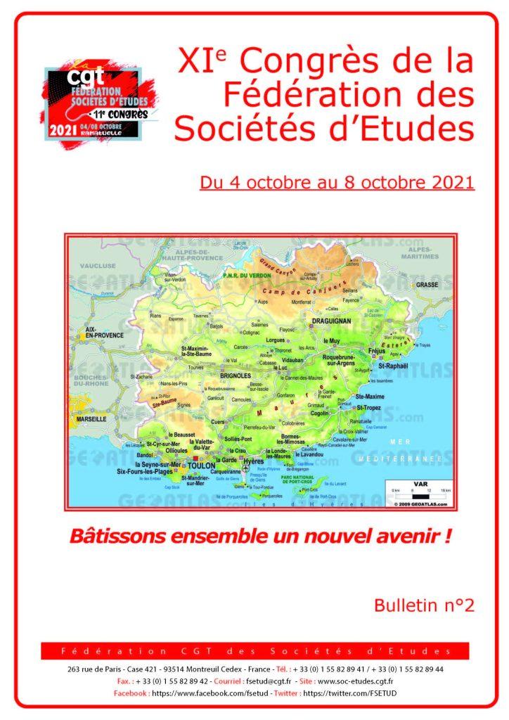 11e Congrès : Bulletin n°2