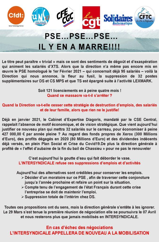 XEROX : PSE…PSE…PSE… IL Y EN A MARRE!!!!