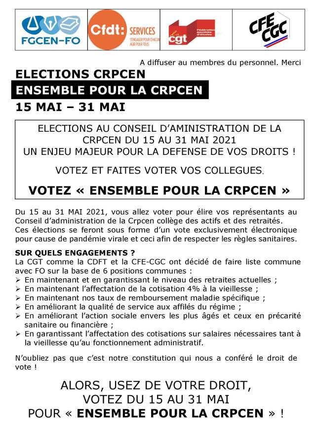 Ensemble pour la CRPCEN – Bulletin n°2