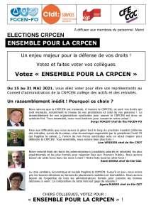 Ensemble pour la CRPCEN – Bulletin n°4