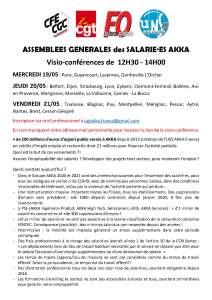 Assemblées générales des salarié.es AKKA
