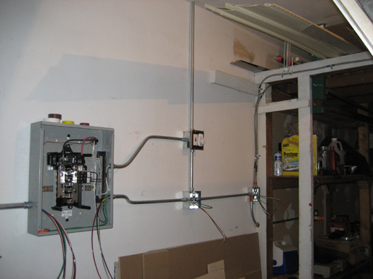 Residential Garage Electrical Wiring