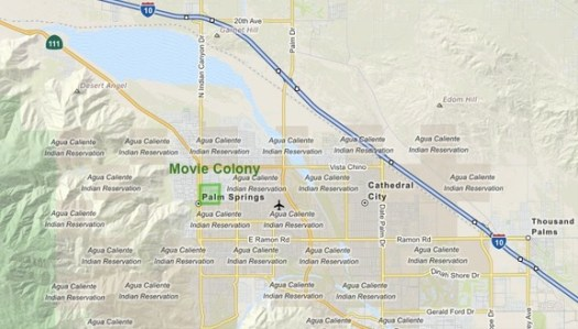 Movie Colony Palm Springs Southern California Homes for Sale