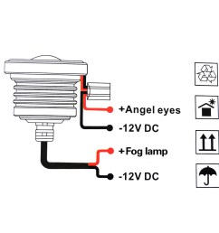 led angel eye cob fog light white 7 m939 turn signal wiring diagram humvee wiring diagram wiring gm turn signal switch diagram at [ 1000 x 1000 Pixel ]