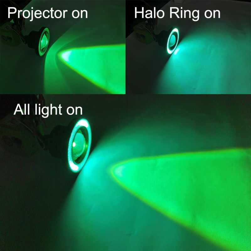3.5in Halo Angel Eye Fog Light