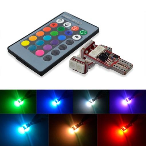 T10 LED Bulbs RGB