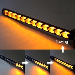 Arrow LED Turn Signal Light Amber White